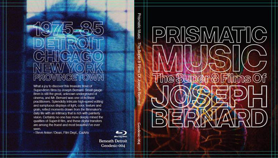 Blu-ray set of Joseph Bernard's Super 8mm films