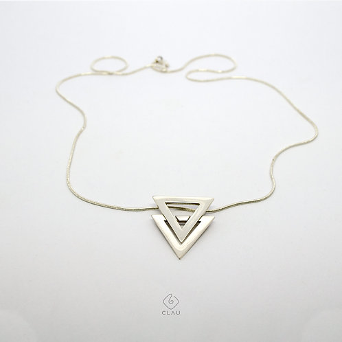 Pingente Triângulos