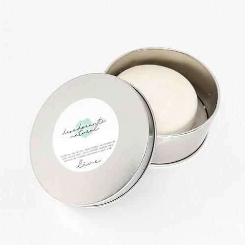 Desodorante natural sólido