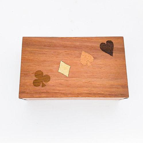 Caixa Porta Baralho - 1 jogo de baralho