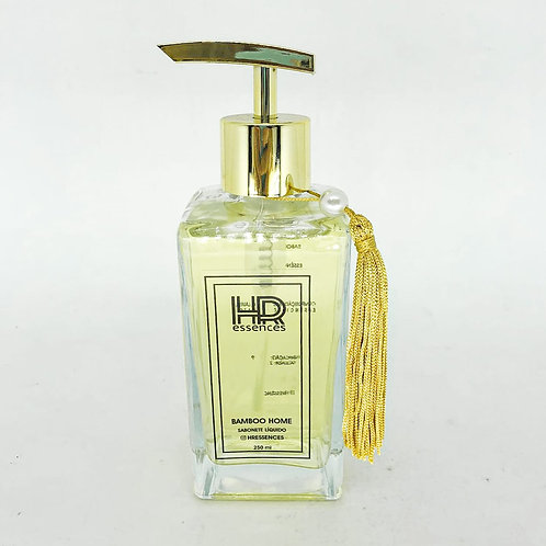 Sabonete liquido gel 250ml aroma bamboo