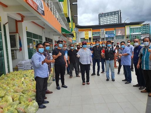 Lanjut PKP: KEADILAN Sabah terus bekal bantuan makanan