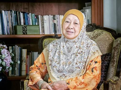 Sentiasa mencabar, Tokoh Wanita Sarawak Datuk Hafsah Harun