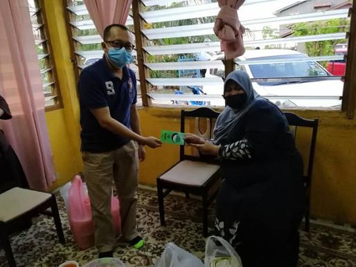 KEADILAN Kota Bharu ziarah keluarga Ketua Ranting