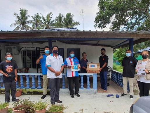 KEADILAN Kluang, NGO beri sumbangan program Jelajah Prihatin