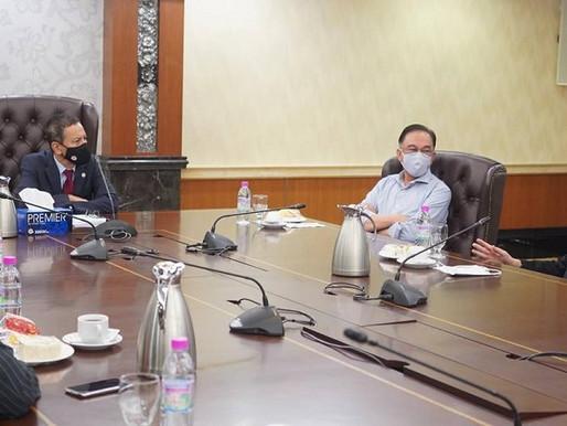 Anwar bertemu Speaker Dewan Rakyat bincang isu sidang Parlimen