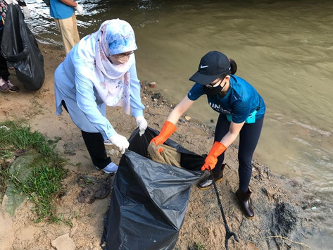 Sungai nadi kehidupan: Exco anjur kempen 'Kutip Sampah Sambil Riadah'