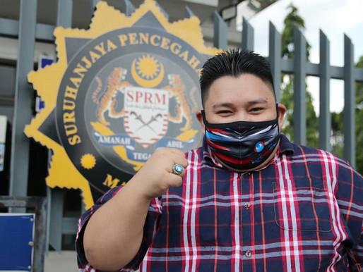 Pemuda PH buat laporan SPRM siasat pendedahan Hamid Bador
