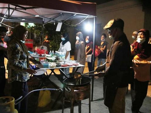 NGO reformis tabur bakti program dapur jalanan di Chow Kit