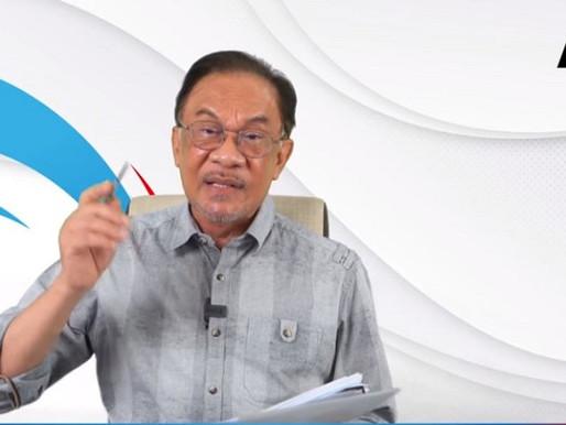 Malaysia antara negara berisiko tinggi jangkitan Covid 19, percepat proses vaksinasi - Anwar