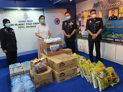 Barisan hadapan: Christina puji usaha polis Sabah laksana PKP
