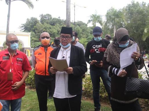 NGO hantar memorandum mohon Agong pertimbang kembalikan kerajaan mandat rakyat