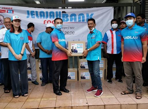 Jelajah Food Bank KEADILAN negeri Johor berjaya