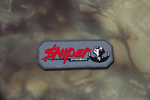 Sniper Dynamics Gray/Red Patch