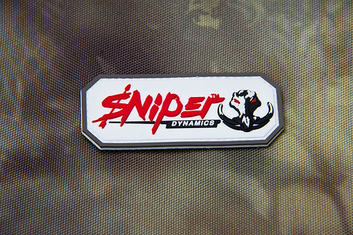 Sniper Dynamics White/Red Patch