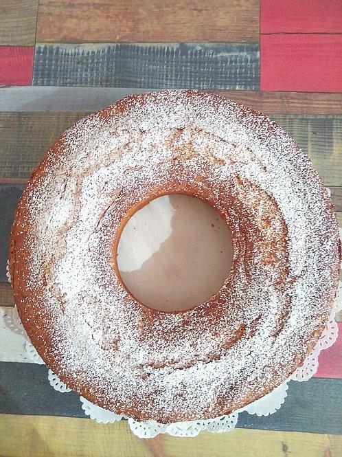 Пирог тыквенный с кокосовой стружкой