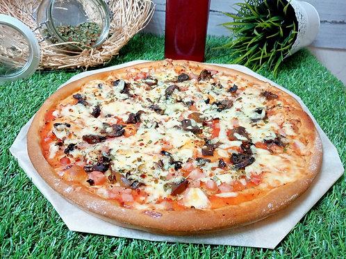 Пицца грибная, 35 см.,600 г.