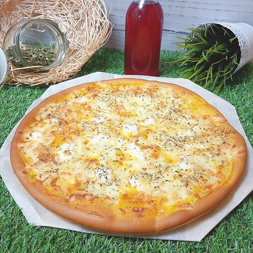Пицца 4 сыра, 35 см.,600 г.