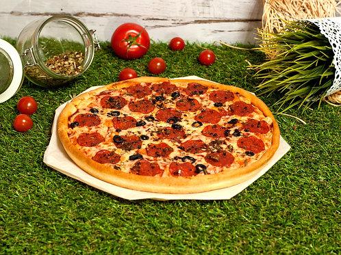 Пицца пепперони, 35 см.,600 г.