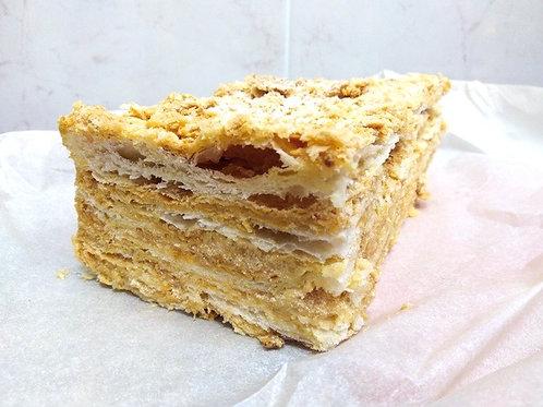 """Торт """"Наполеон"""" со сливками ,1кг."""