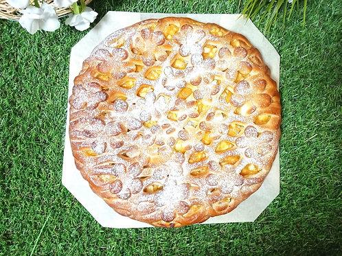 Пирог с апельсином и ананасом,1кг.