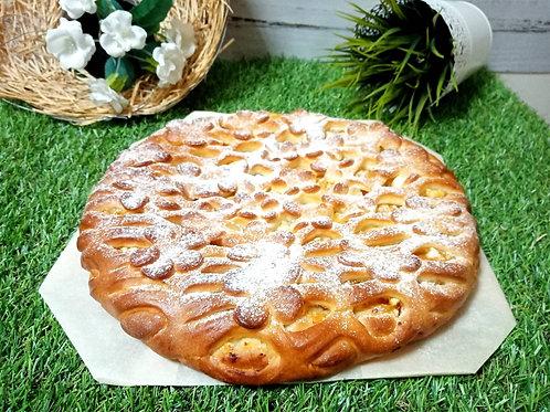 Пирог с абрикосом,1кг.