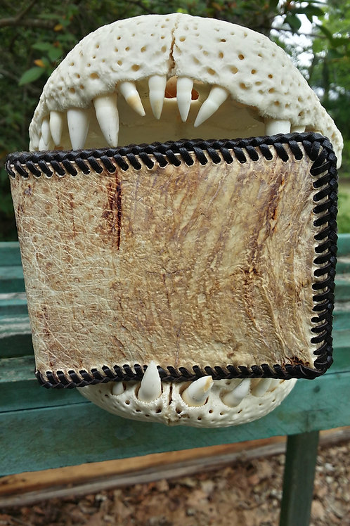 Alligator tongue Wallet