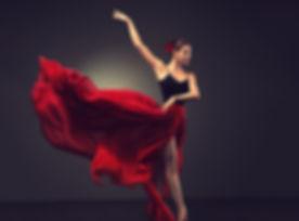 Ballerina. Young graceful woman ballet d