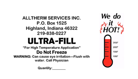 Ultra-Fill Label