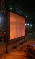 Furnace Back Wall