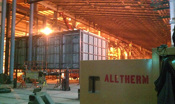 #Beck #Furnace Fabrication New furnace design & bult by Alltherm Services