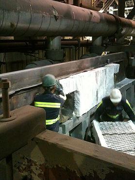 Tunnel Furnace Maintenace