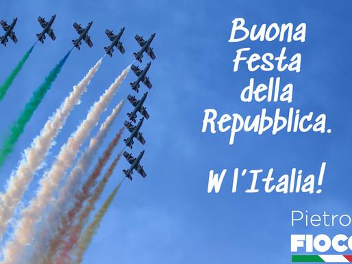 Buona Festa della Repubblica Italiana