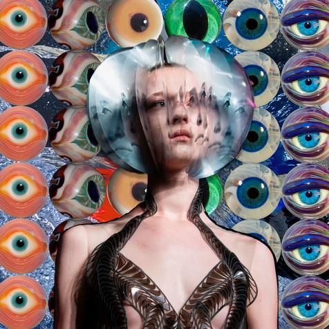 Iris Van Herpen Inspired Collages