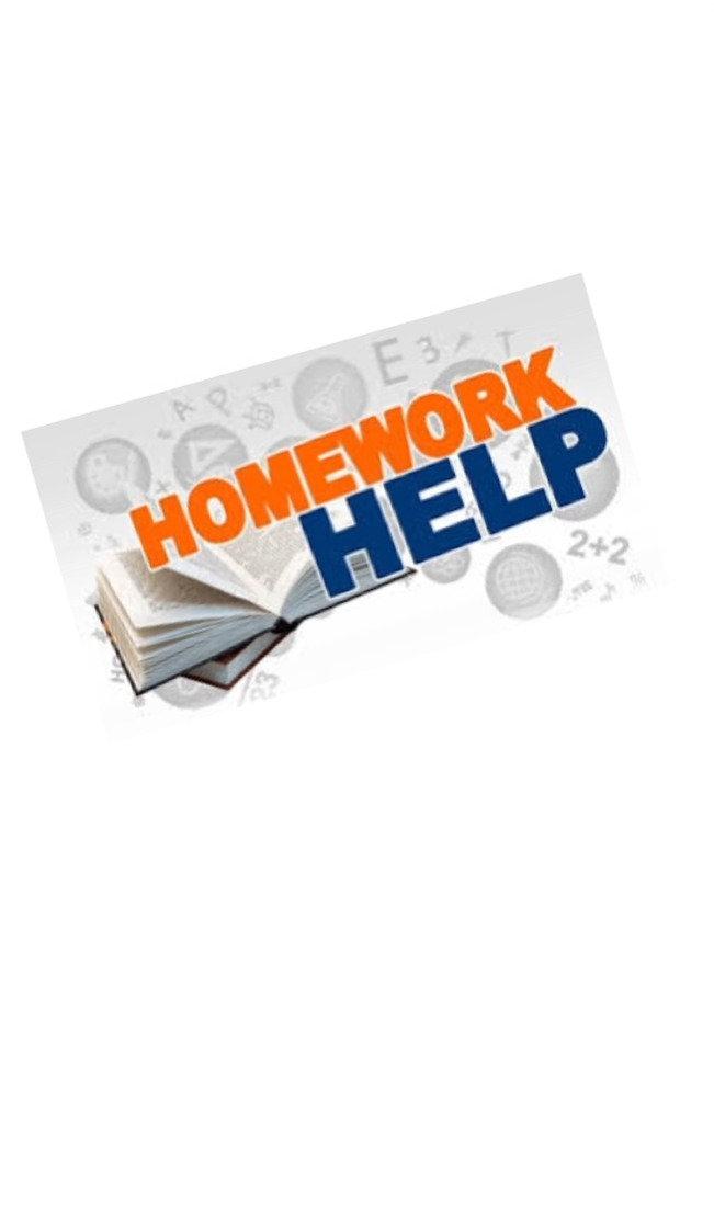 Homework help -- private tutoring