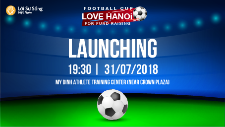 Love Hanoi football cup – Fund raising