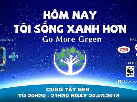Earth hour 2018: Go more green