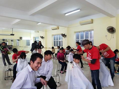 Charity hair cut
