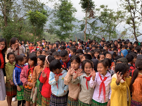 SUMMARY OF PROGRAM FOR SUPPORTING CENTRAL REGION AND LOVING WINTER  PROGRAM WITH CHILDREN IN YEN BAI