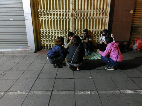 Helping the homeless