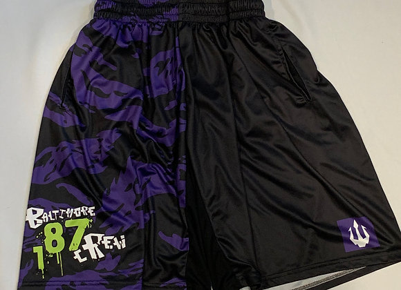 187 Crew Limited Edition Tech Tee Shorts