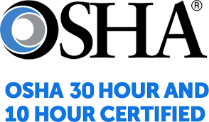 OSHA 30 & 10 Hour Construction Safety Certified