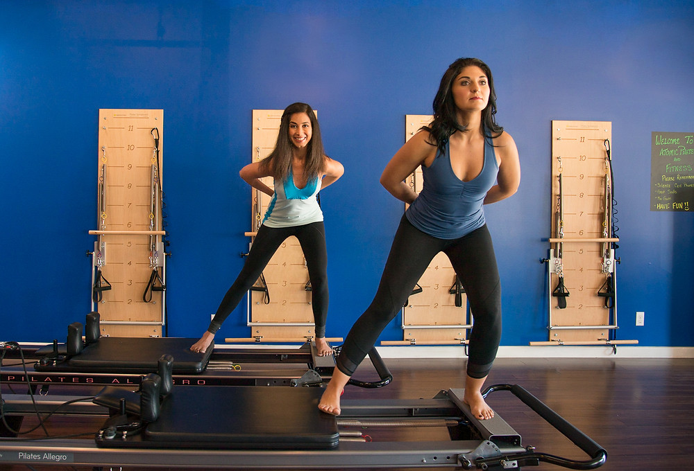 Standing Pilates on the Reformer