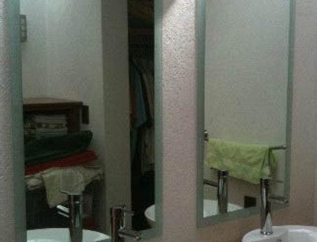Espejo de 6 mm con Cenefa Esmerilada