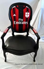 Fauteuil accoudoir AC Milan