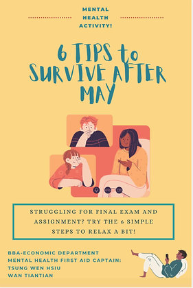 6 Tips to Survive After May