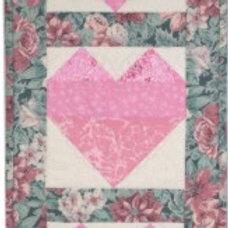"Heart Banner Pattern 9-1/2"" x 24"""