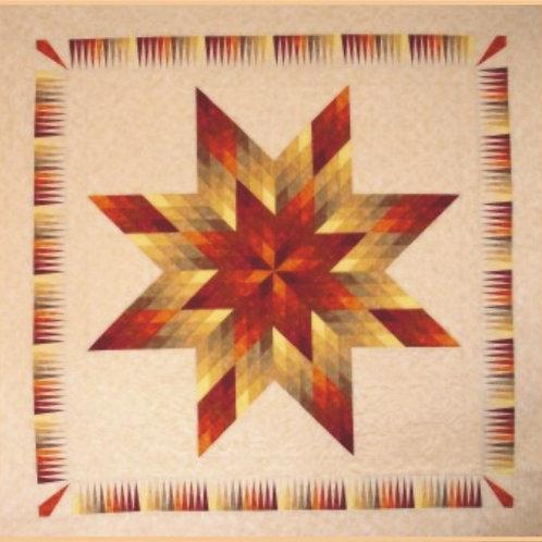 Tequila Sunrise Quilt Pattern