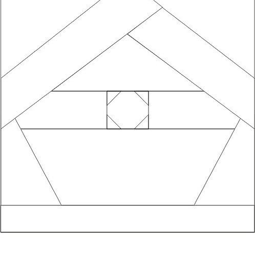 "Bird House #1 - 8"" 6/pkg"