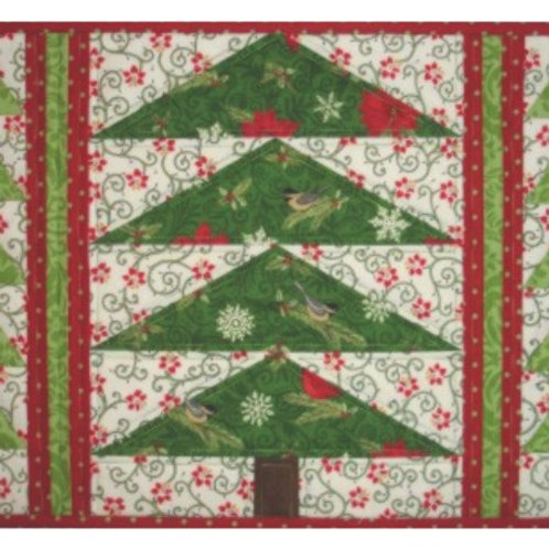Christmas Trees Placemat Pattern 4/pkg